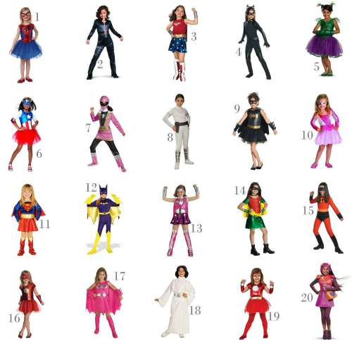 girls halloween super hero costumes