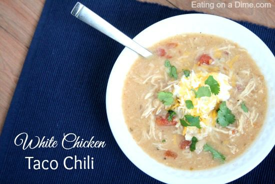 white chicken taco chili 2