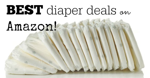 diaper deals on amazon
