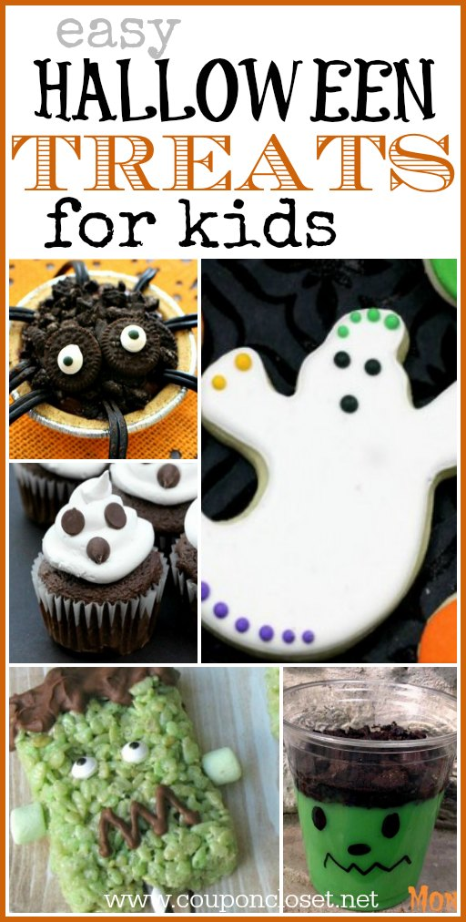 easy halloween treats for kids