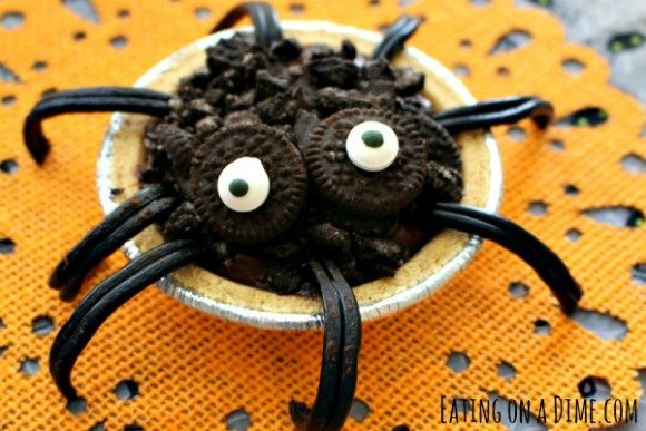 how-to-make-spider-pudding-pies
