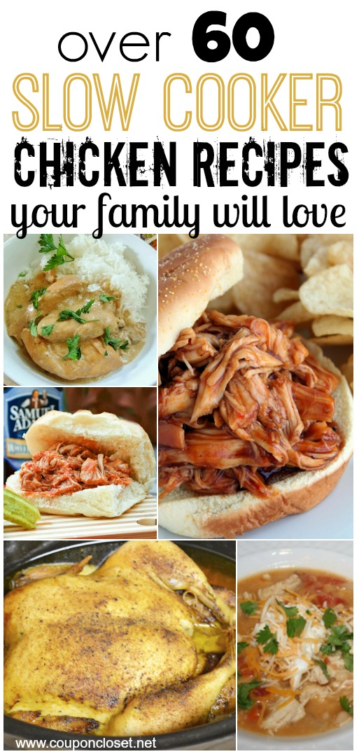 slow cooker chickenr recipes your family will love - crock pot chicken dinner
