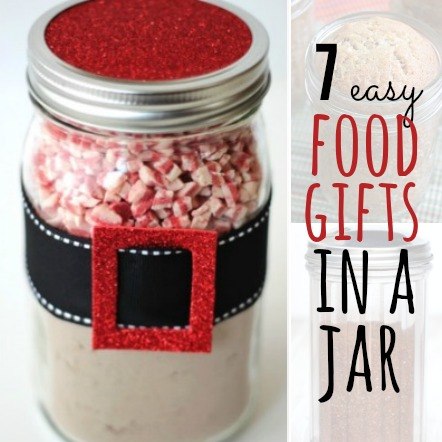 food gifts in a jar square