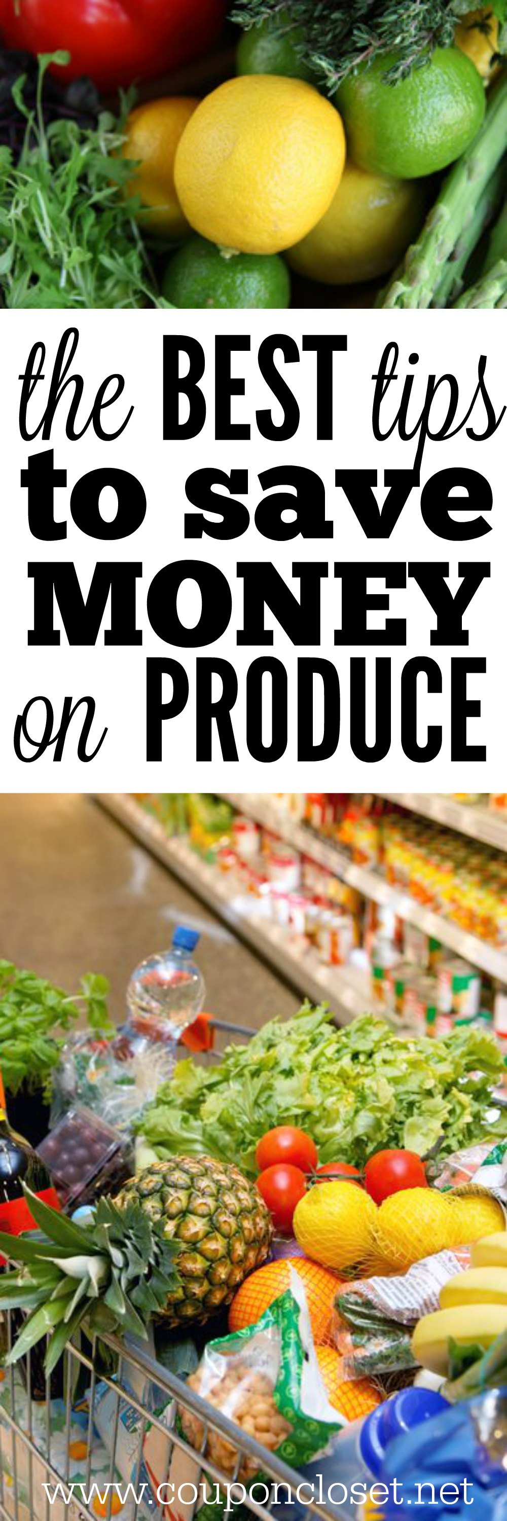 best tips to save money on produce