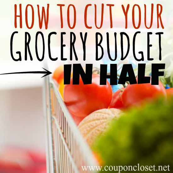 cut grocery budget in half