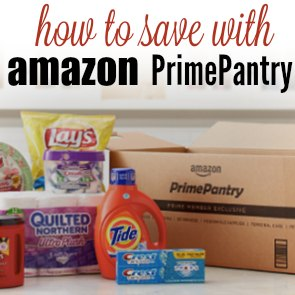 how to use amazon prime pantry square