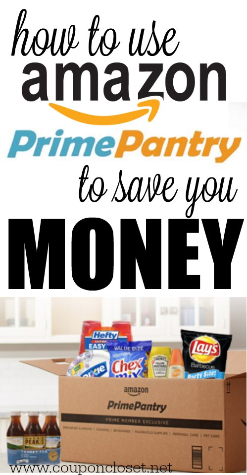 how to use amazon prime pantry to save money