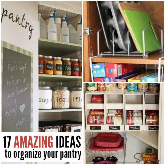 Food Pantry Organization Easy Pantry Organization