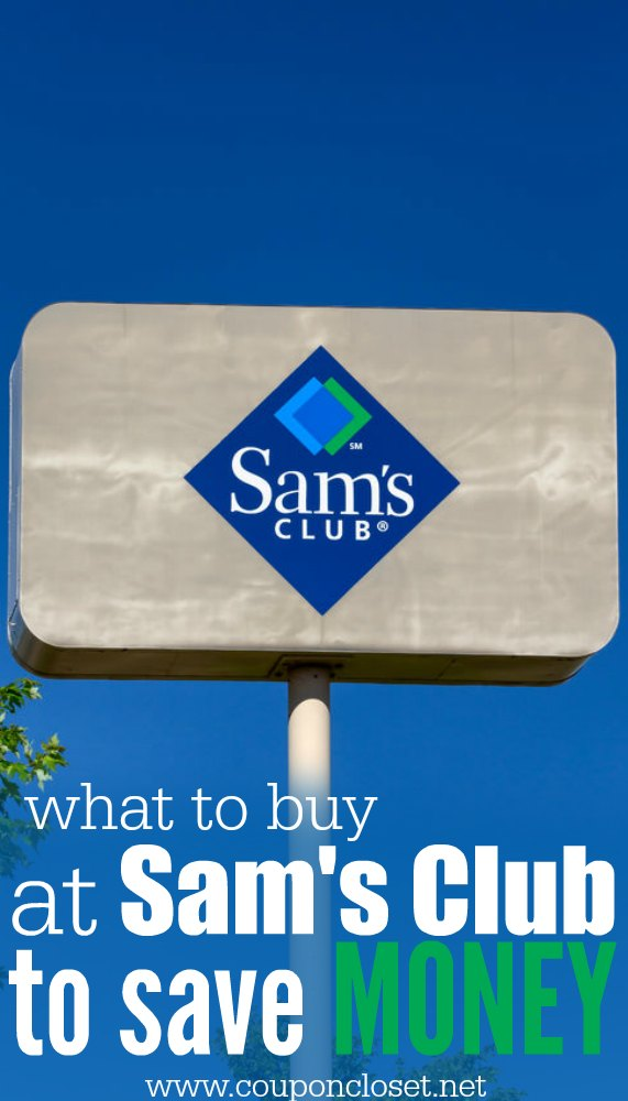 what to buy at sams club to save money