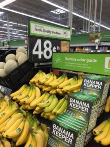 Bananas at Walmart