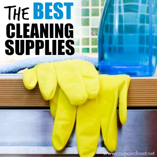 best cleaning supplies square