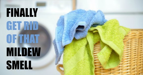 How To Get Rid Of Mildew Smell Only 1 Simple Ingredient