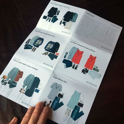 stitch fix review - style cards