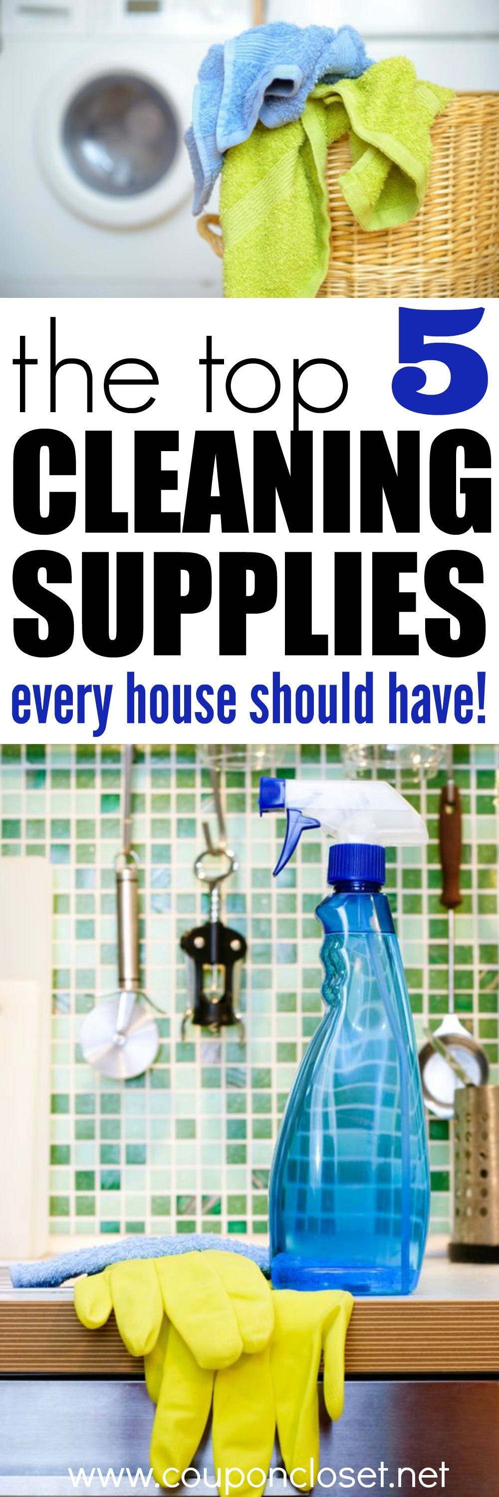 the best cleaning supplies that every house needs