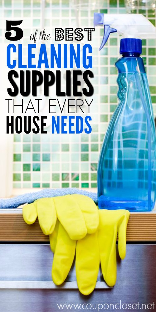 the best cleaning supplies