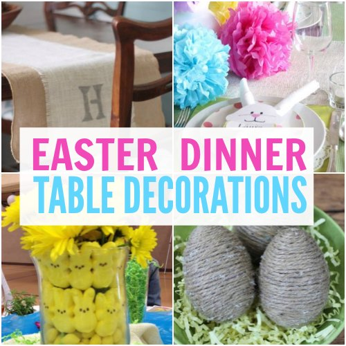 easter dinner table decorations square