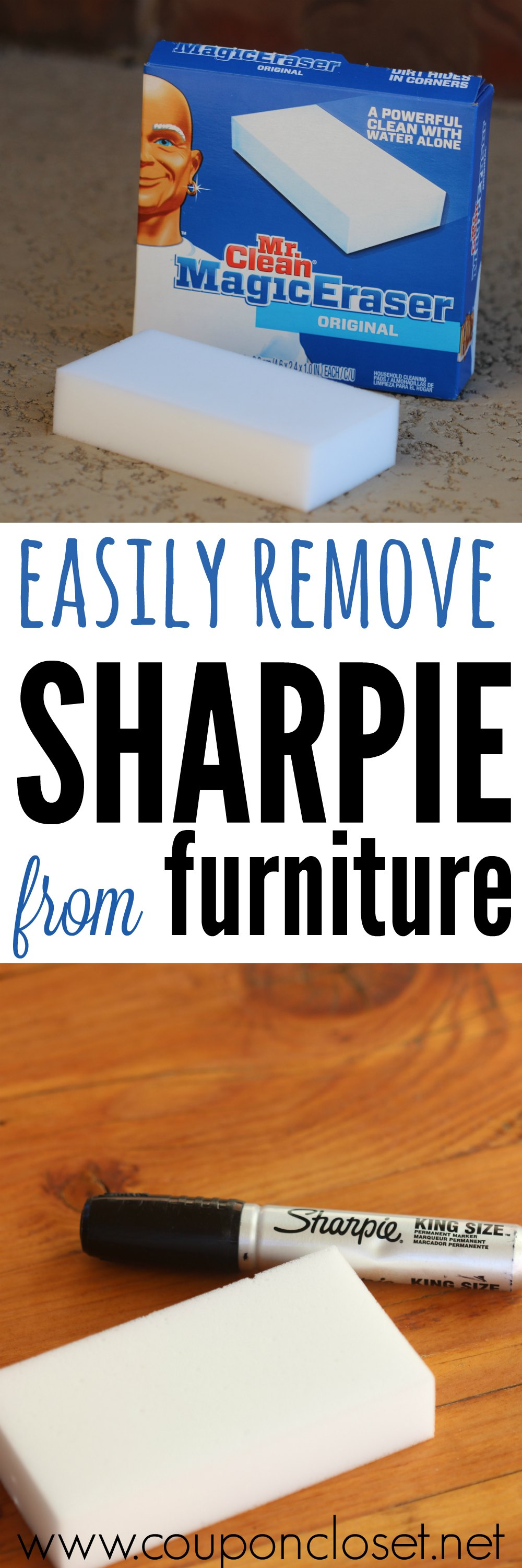 how to remove permanent marker from furniture - any sharpies