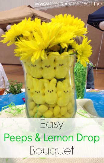 peeps-and-lemon-drop-bouquet