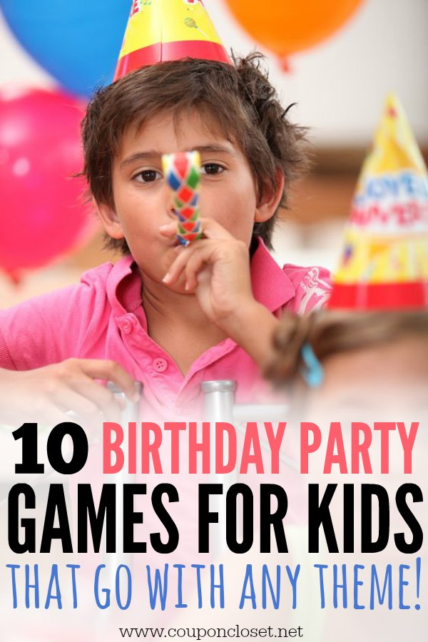 10 Birthday Party Games for Kids
