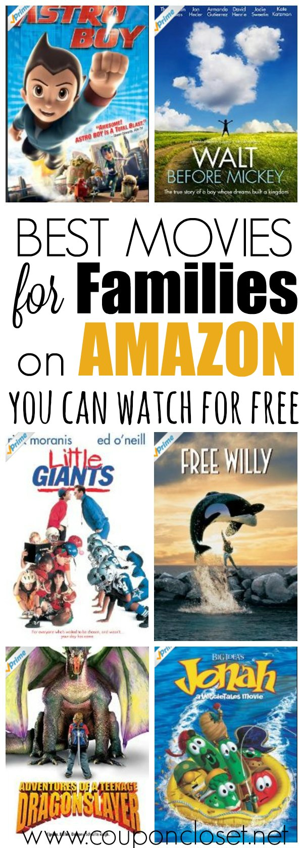 Best Free Amazon Prime Movies For Families