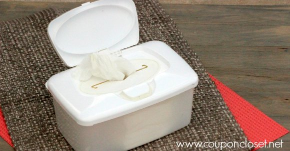 diy baby wipes facebook image