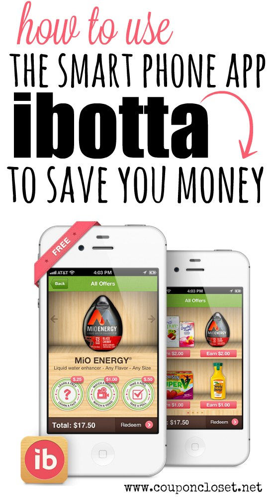 how to use ibotta to save you money