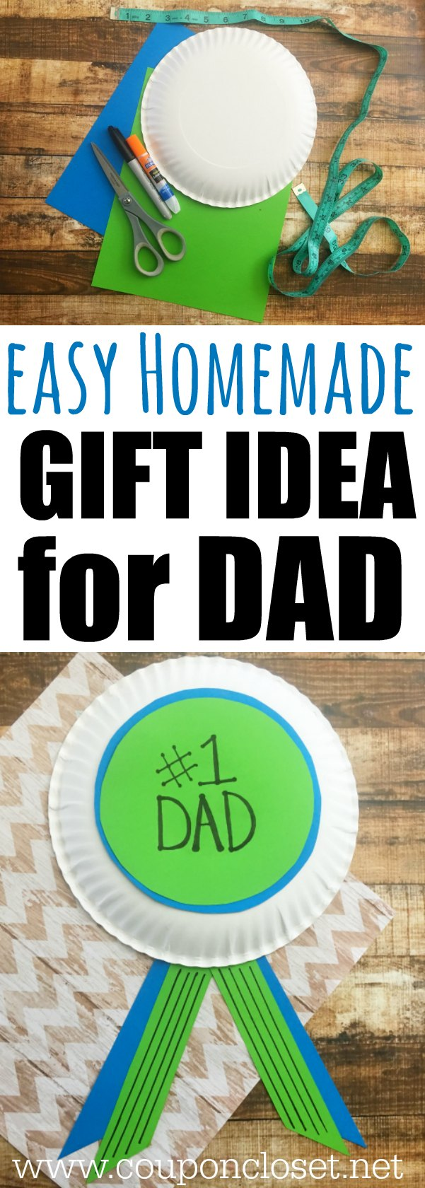 easy homemade fathers day gift idea that the kids can make
