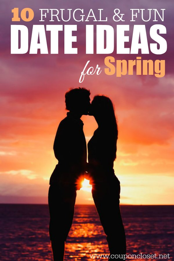 We have 10 frugal and fun date ideas for Spring. Dates don't have to be expensive. These are some frugal and romantic date ideas to enjoy this Spring.