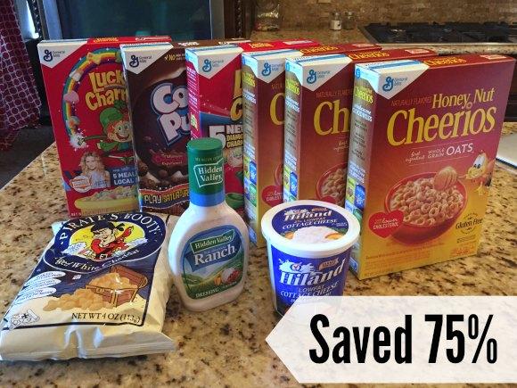 saved 75 percent at homeland