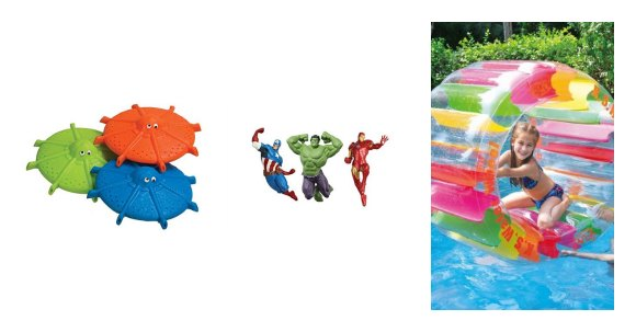 We have the best swimming pool toys for kids. These are on sale for the best price. Plus we have baby swimming pool toys on sale too!