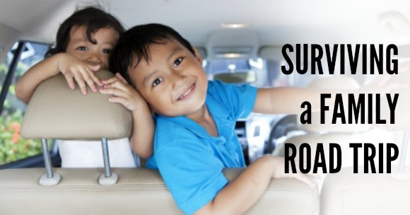 things to do on a road trip with kids. Here are tips to help you survive a family road trip including fun road trip games and easy road trip ideas.
