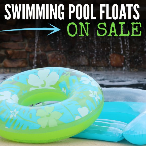 SWIMMING POOL FLOATS ON SALE SQUARE