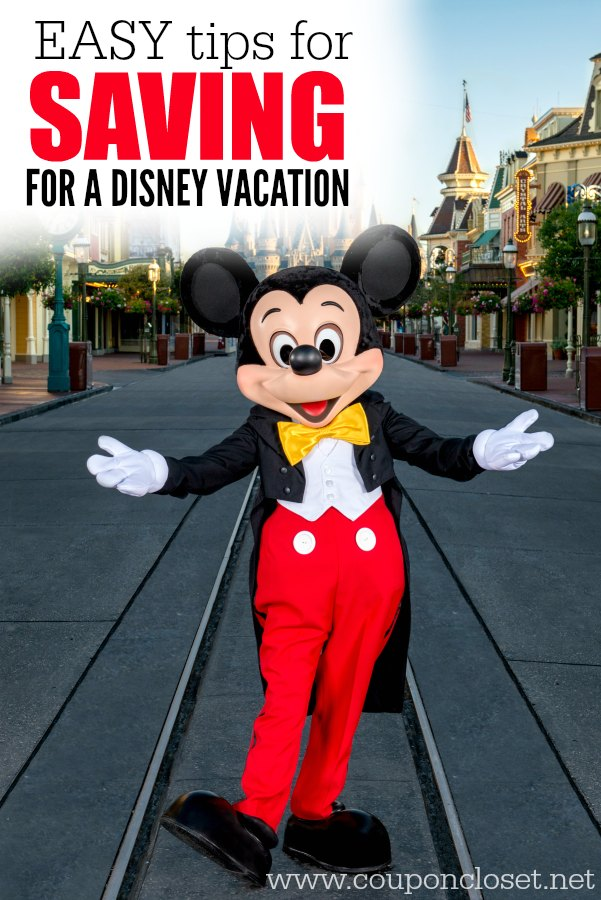 13 Tips To Saving For Disney World Vacation One Crazy Mom