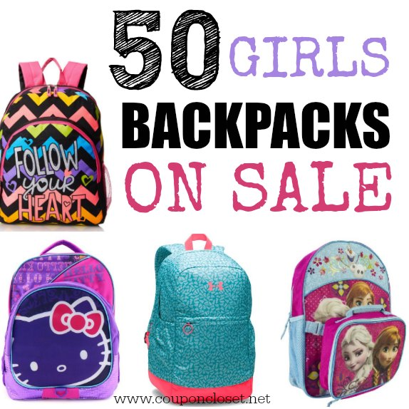 50 Girls Backpacks on sale - One Crazy Mom