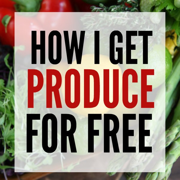 how I get produce for free square