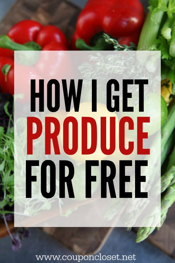 how I get produce for free