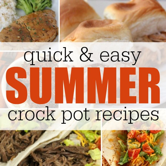 Summer Crockpot Recipes- Easy Crockpot Recipes To Keep The