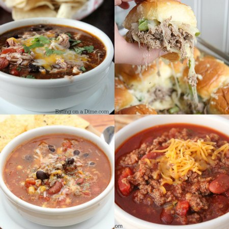 Try some of these football food recipes during your next football game. Game day appetizers and game day meals are perfect for your next football party!