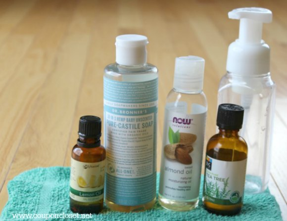diy foaming hand soap ingredients
