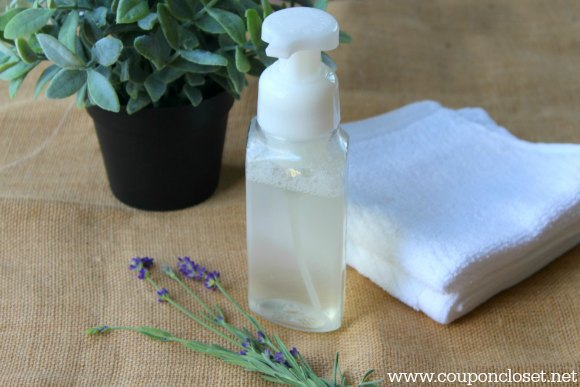 diy foaming hand soap is easy to make