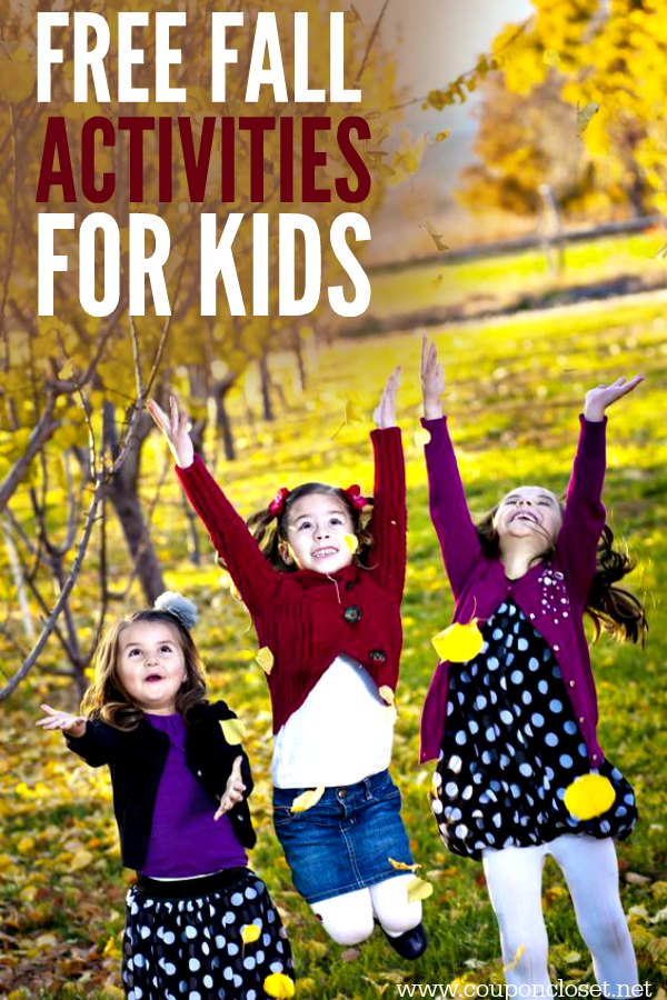 Try some of these fun and free fall activities for kids. the kids activities are perfect for the fall weather. 5 Autumn activities for the entire family.