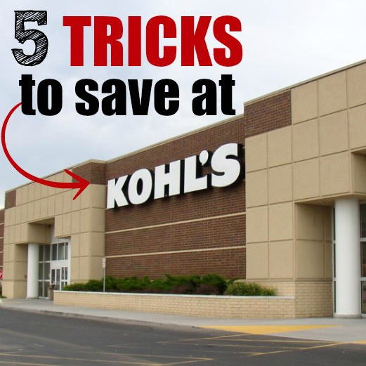 how to save money at kohls square