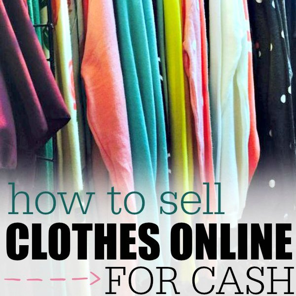 Sell new clothes online for cash