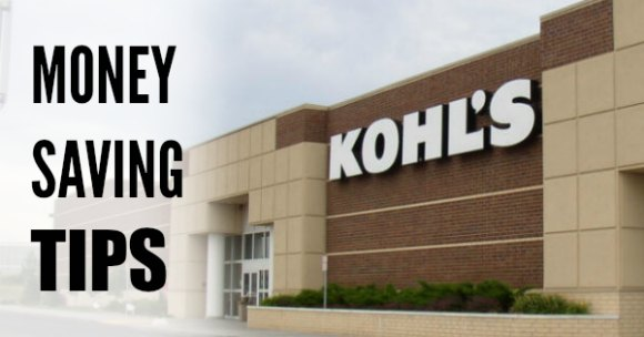 money saving tips at kohls