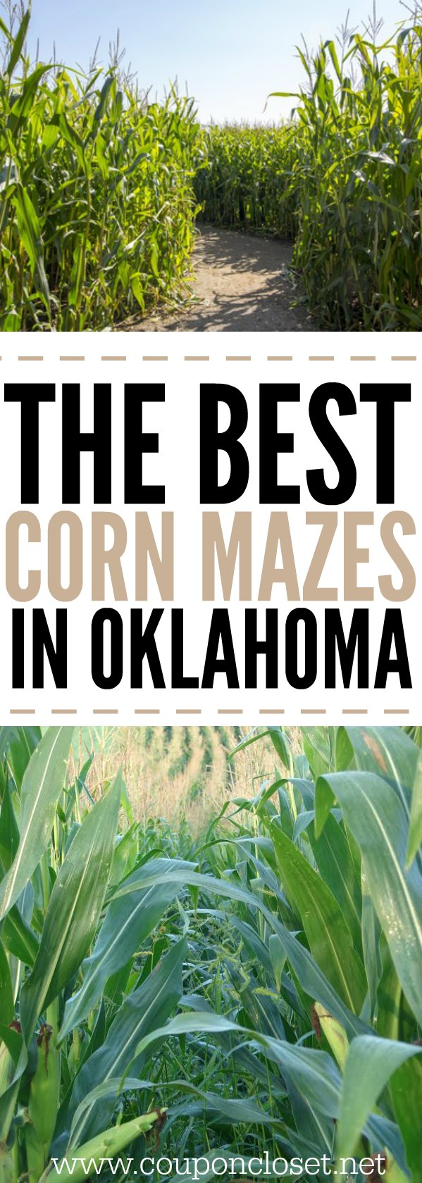 Check out the top 10 corn mazes in Oklahoma. Here are the best corn mazes in oklahoma that your family needs to visit this year.