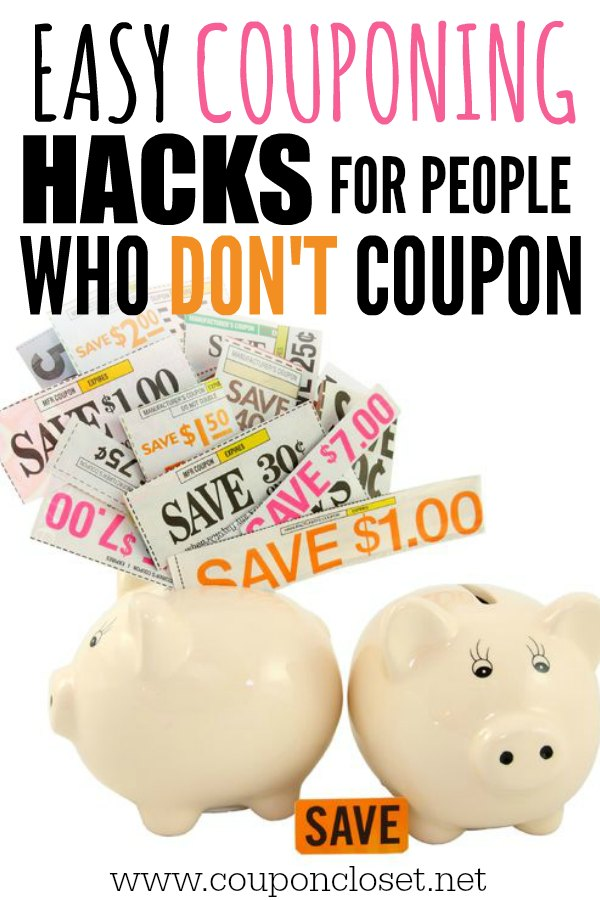 Money Saving hacks for people who don't coupon - Extreme couponing without clipping coupons. Easy money saving apps for restaurant, groceries and more!