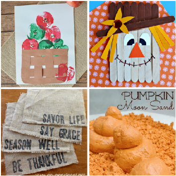 Fall Crafts for Kids - Quick and Easy Fall crafts for toddlers and more!