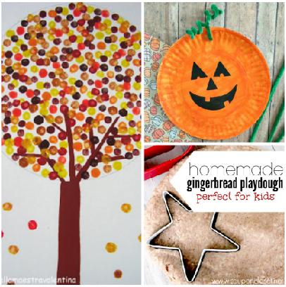 fall crafts for kids - Fall Crafts