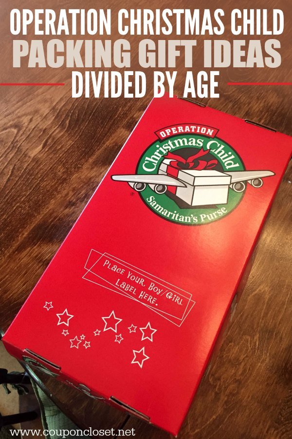Making An Operation Christmas Child Box This Year Here Is A Huge List Of Samaritan S