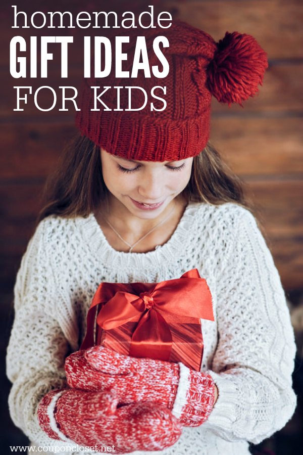 Homemade gifts for kids - Homemade christmas gifts for Kids